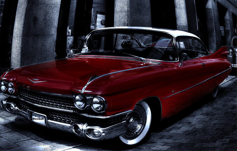 Photo wallpaper background, Eldorado, Cadillac, HDR, classic, Cadillac, Eldorado