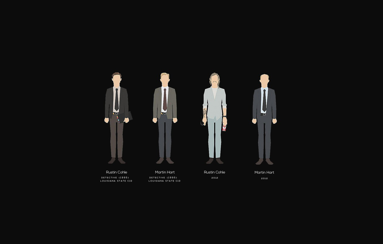 Photo wallpaper Woody Harrelson, Matthew McConaughey, true detective, Matthew McConaughey, true detective