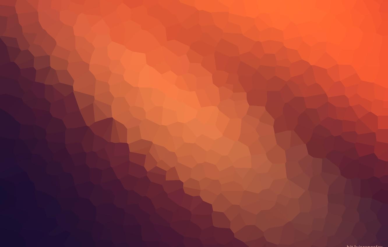 Photo wallpaper abstract, wallpaper, texture, blue, background, orange, graphic, modiac, crystallize