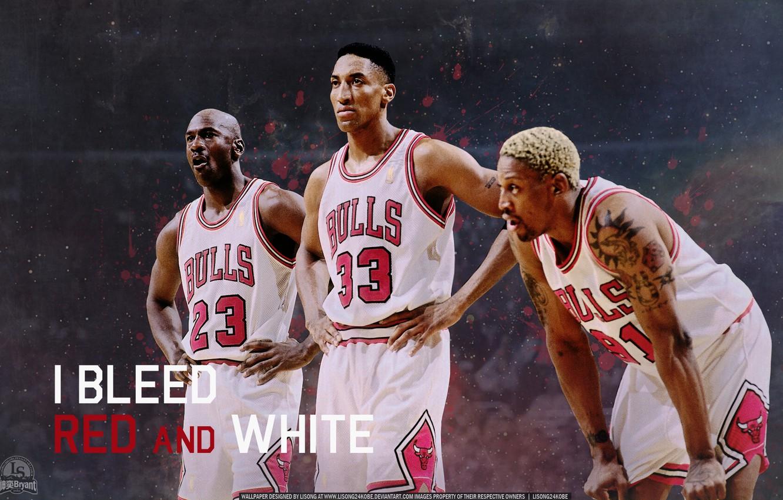 Photo wallpaper Basketball, Michael Jordan, NBA, Michael Jordan, NBA, Basketball, Dennis Rodman, Scottie Pippen, Dennis Rodman, Scottie ...
