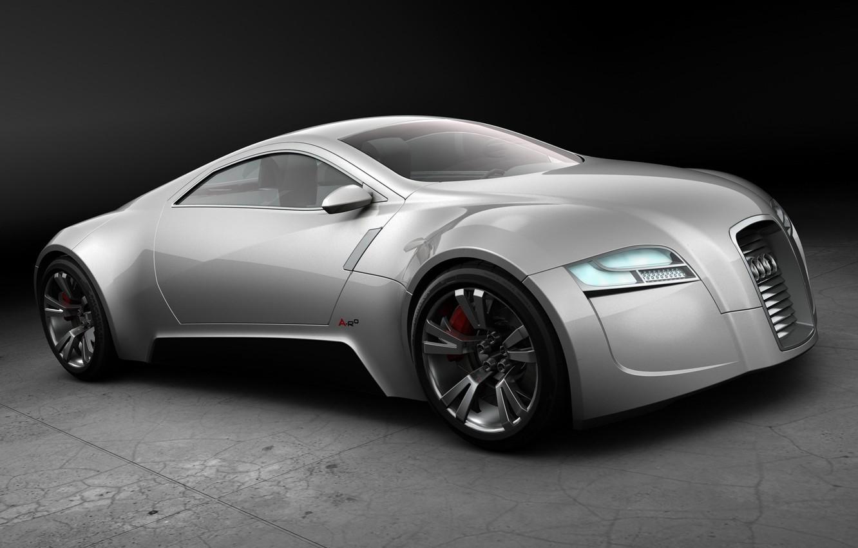 Photo wallpaper Concept, Audi, silver