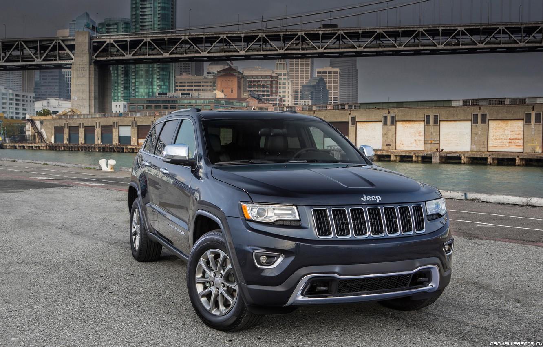 Photo wallpaper machine, auto, jeep, SUV, Jeep, Grand Cherokee, Jeep Grand Cherokee