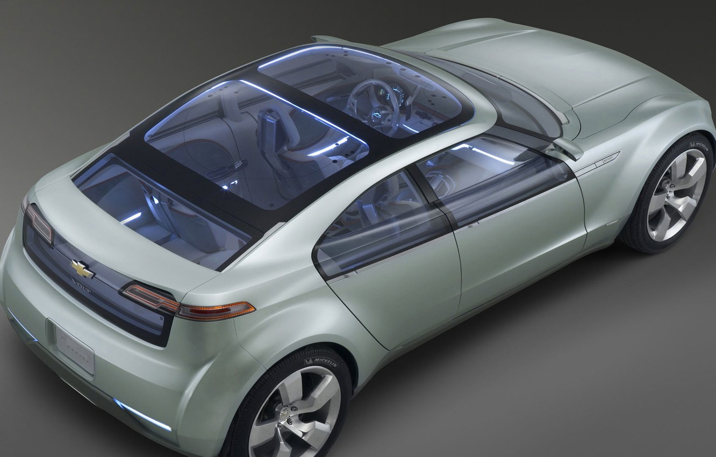 Photo wallpaper Concept, Chevrolet, Volt