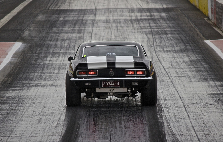 Photo wallpaper race, muscle car, Muscle car, drag racing