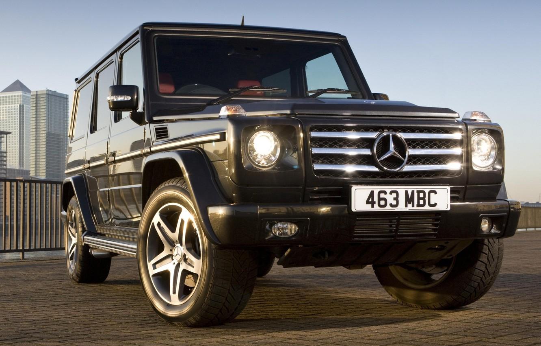 Photo wallpaper Mercedes, G55, Kompressor