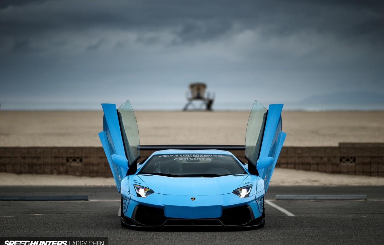 Photo wallpaper Lamborghini, tuning, aventador