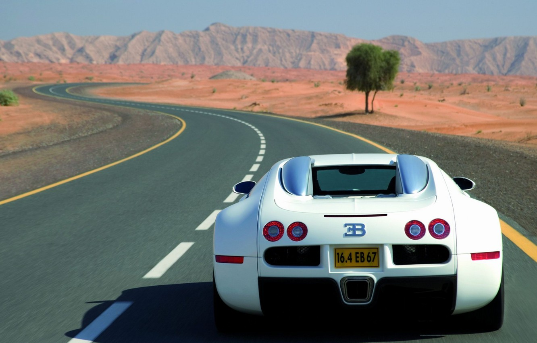 Photo wallpaper veyron, bugatti