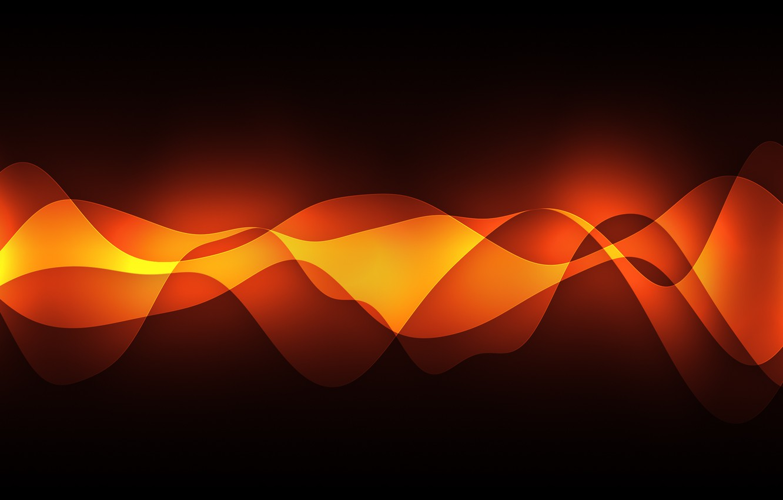 Photo wallpaper light, wave, momentum