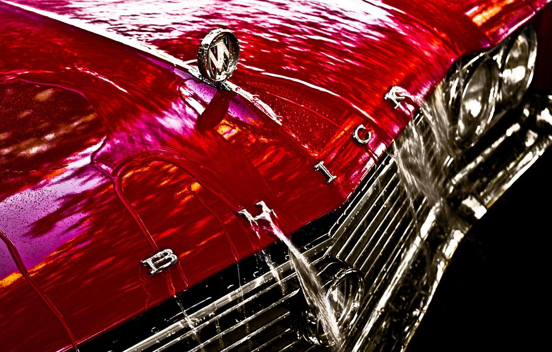 Photo wallpaper retro, the hood, Buick, classic, 1965, Buick, Skylark