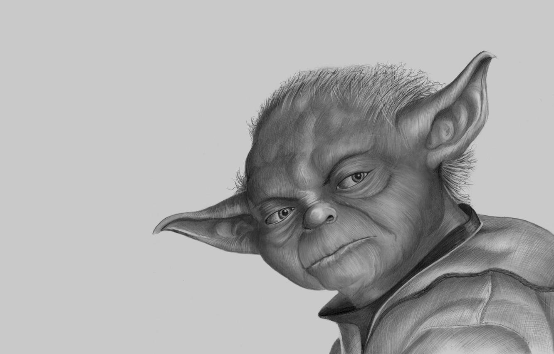 Wallpaper White Face Grey Star Wars Star Wars Jedi Yoda Iodine Jedi Master Good Images For Desktop Section Filmy Download
