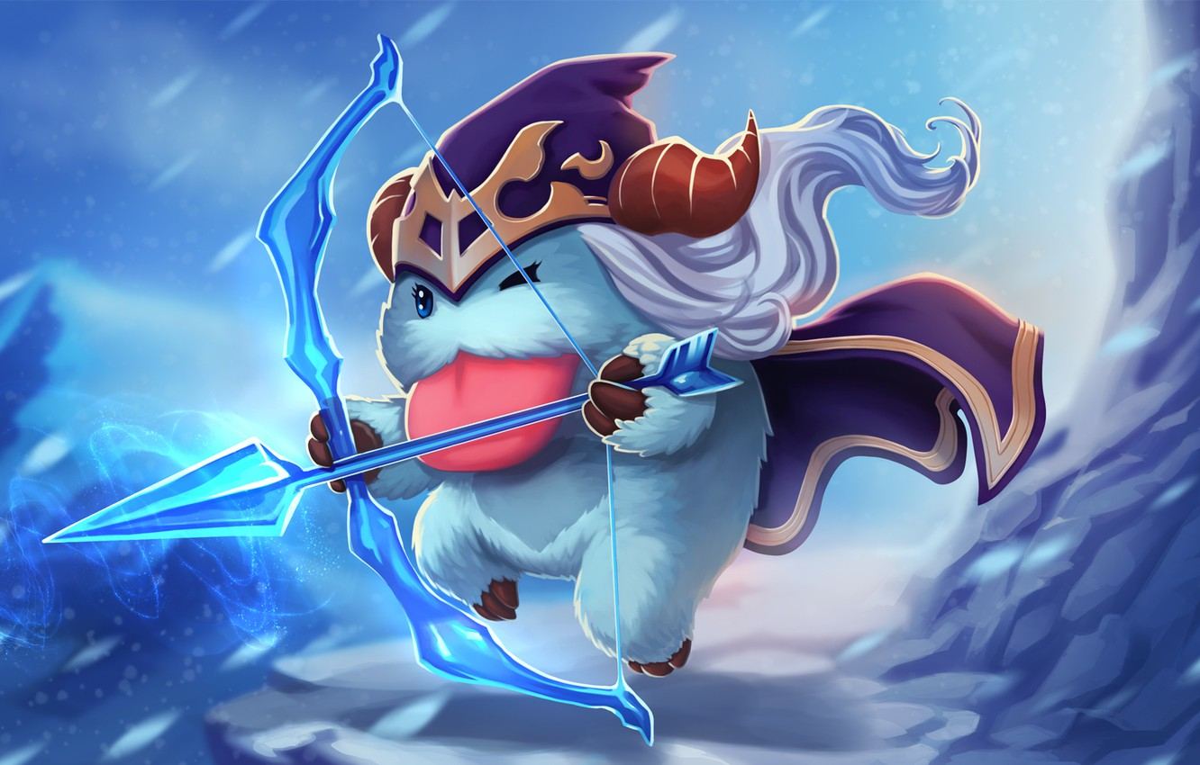 Wallpaper Poro Lollatino Net League Of Legends Lol Ashe Images