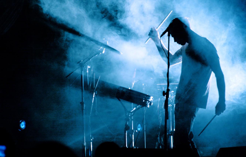 Photo wallpaper Dolphin, music, concert