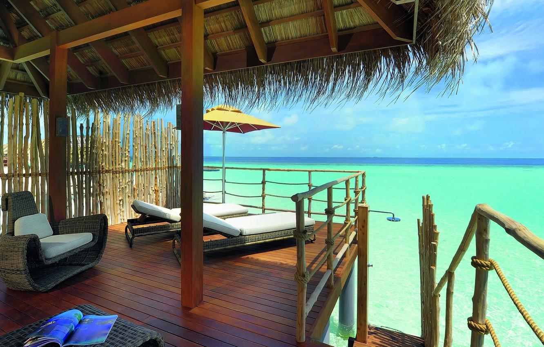 Wallpaper House Beach Interior Images For Desktop Section Interer Download