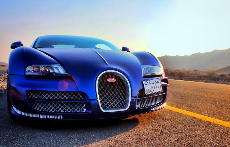 Photo wallpaper veyron, bugatti, dubai, vitesse