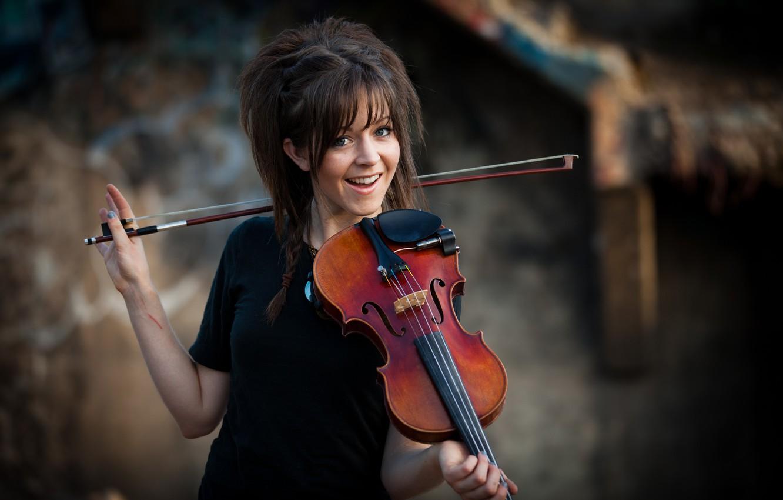 Photo wallpaper beauty, Lindsey Stirling, Lindsey Stirling, violinist