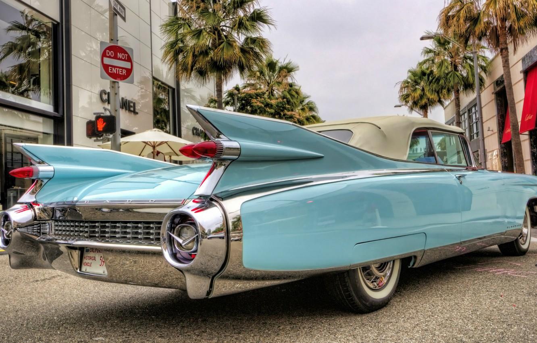 Photo wallpaper Eldorado, Cadillac, Cadillac, Eldorado, Convertible, 1959, Biarritz