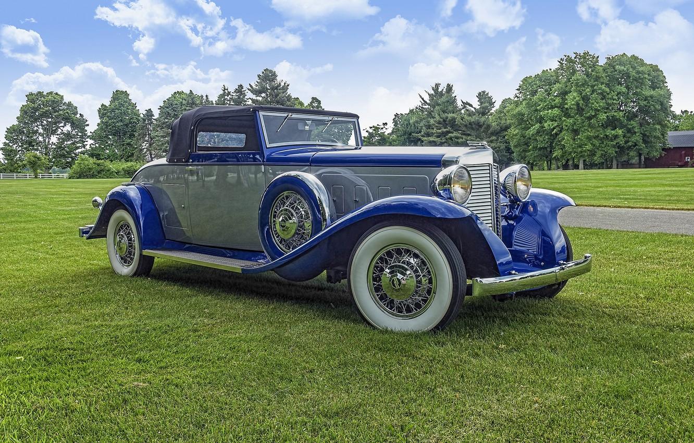 Photo wallpaper retro, classic, 1932 Marmon Twelve Roadster