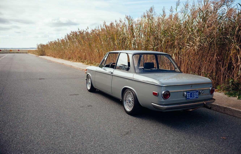 Photo wallpaper machine, BMW, BMW, 1969, classic, 2002, kamyshi, car, E10