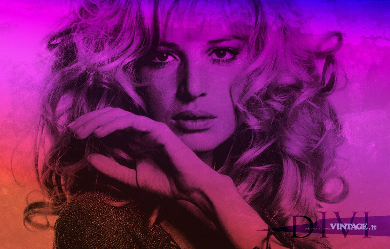 Photo wallpaper purple, Italian actress, DIVI COLLECTION, Monica Vitti