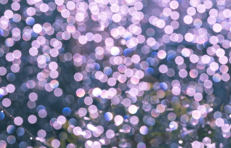 Photo wallpaper light, circles, glare, background, color