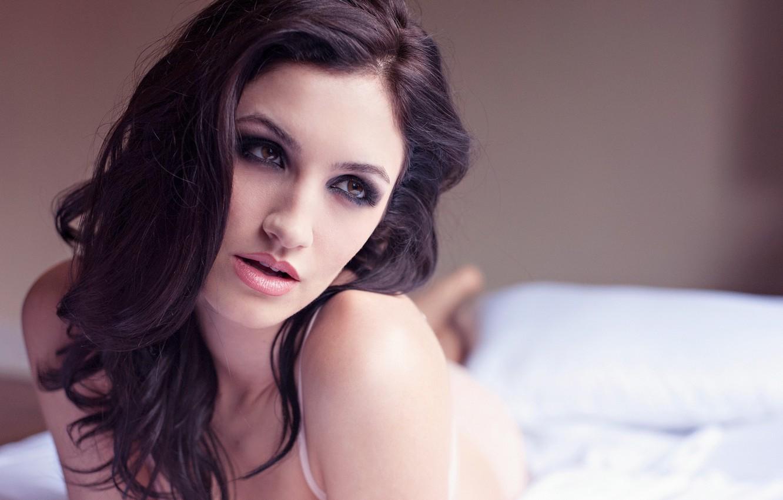 Photo wallpaper girl, Model, Joanne Maye