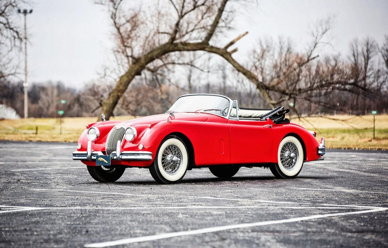 Photo wallpaper coupe, Jaguar, Jaguar, classic, Coupe, 1961, Drophead, XK150