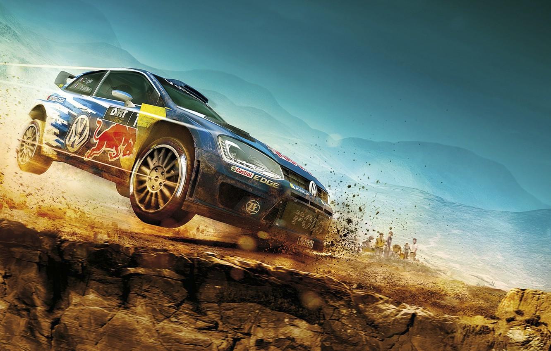 Photo wallpaper Volkswagen, rally, WRC, Volkswagen, Rally, Polo, Polo