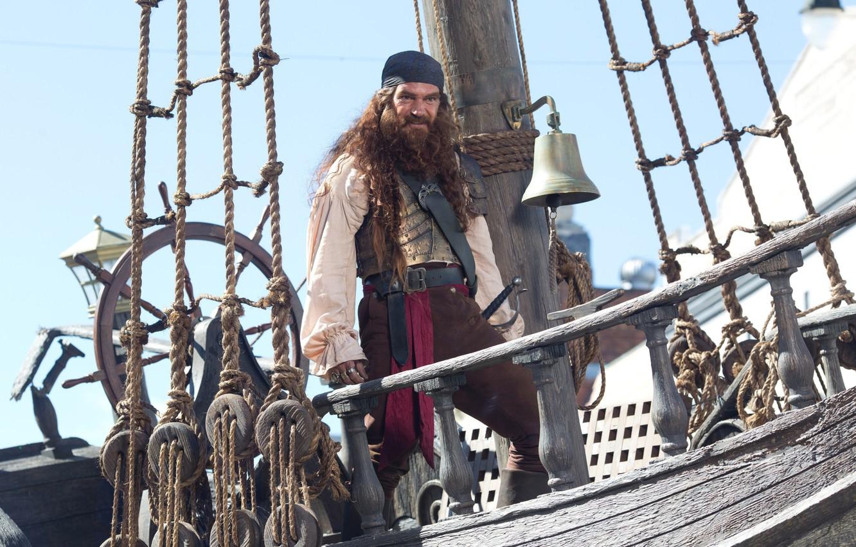 Wallpaper Pirate Spongebob The Ship The Wheel Antonio Banderas