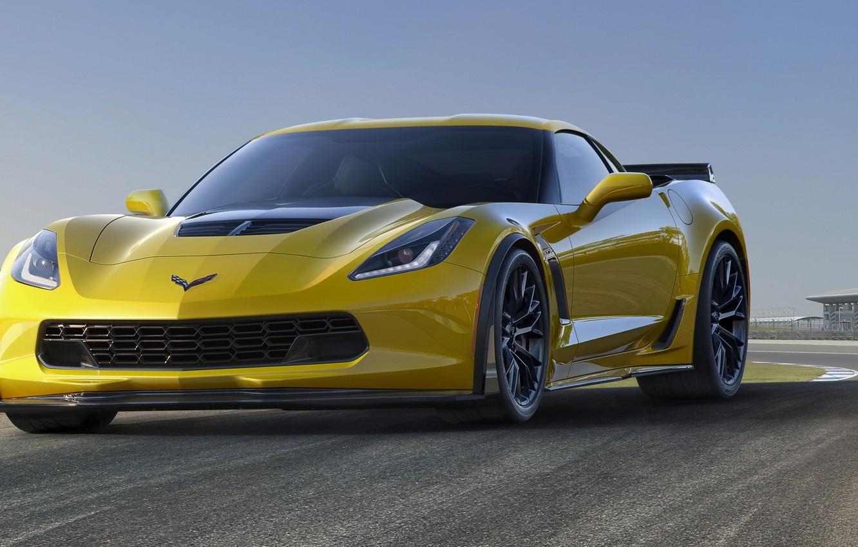 Photo wallpaper Z06, corvette, sportcar, chevrolet, chevrolet corvette, 2015