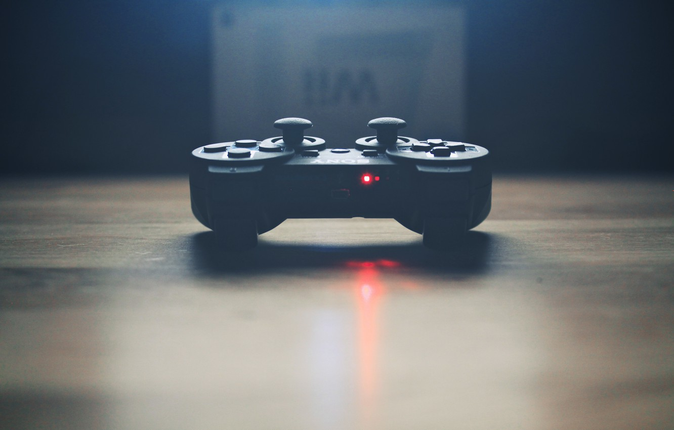 Photo wallpaper sony, gamepad, gamepad, controller, controller, console