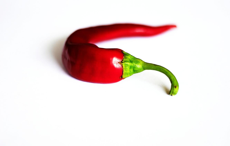 Photo wallpaper stem, pepper, hot