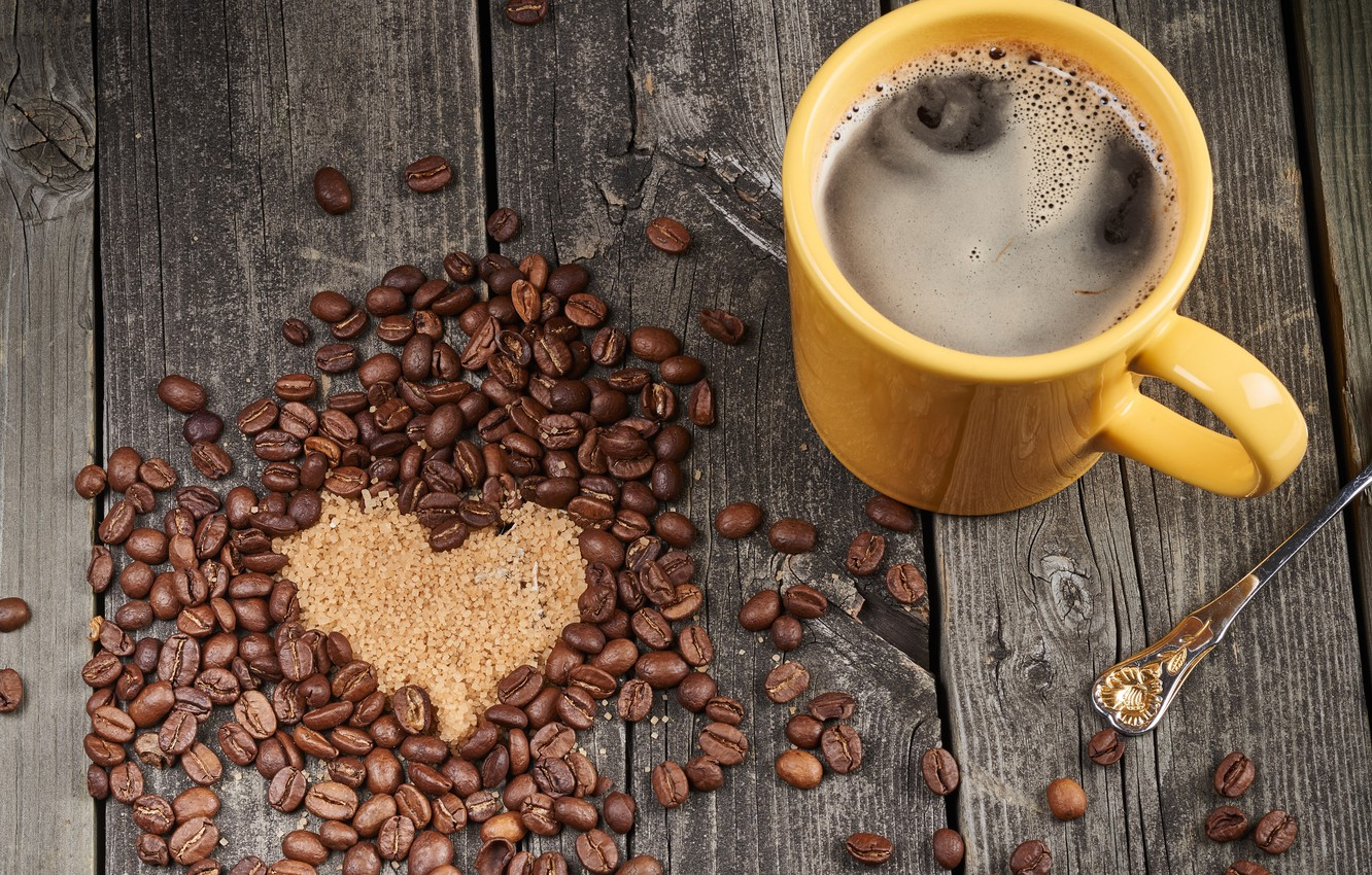 Wallpaper love, heart, coffee, love, cup, romantic, sweet, coffee images for desktop, section - download