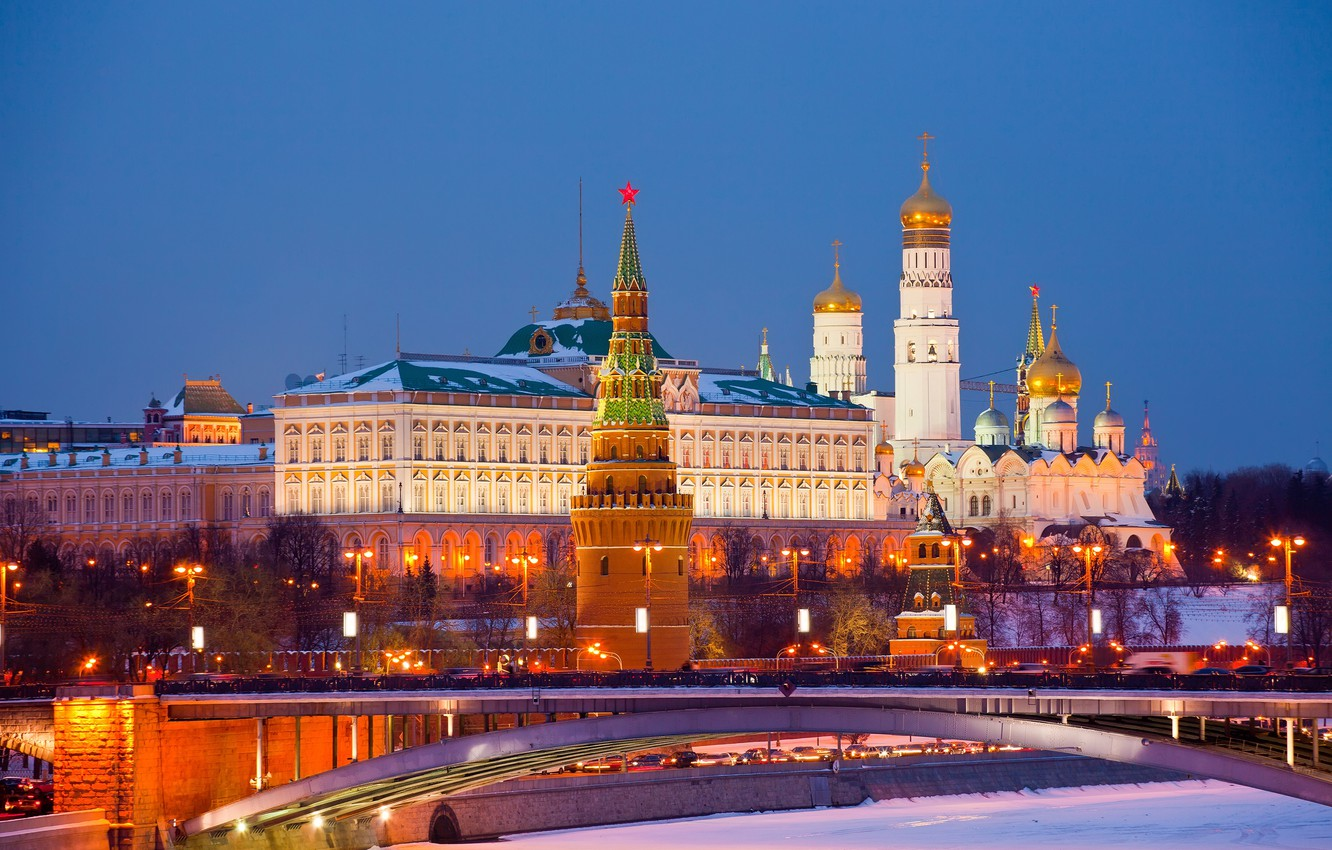 Wallpaper city, Moscow, The Kremlin, Russia, Russia, Moscow ...