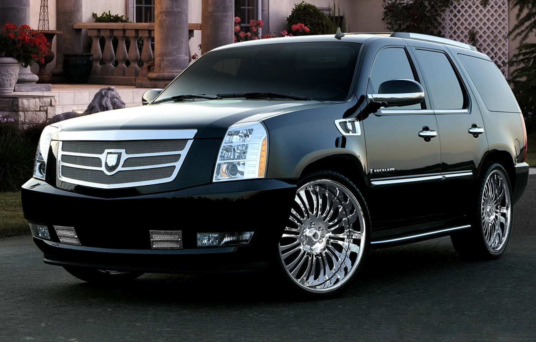 Photo wallpaper auto, Cadillac, tuning, Escalade, drives, auto, tuning