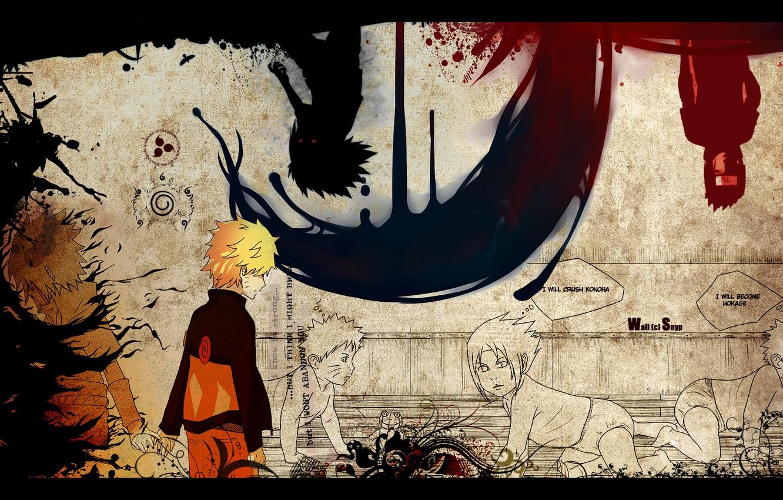 Photo wallpaper sadness, betrayal, naruto, naruto, Sasuke, sasuke, plans, narusasu, narusasu, sasunaru, sasunaru