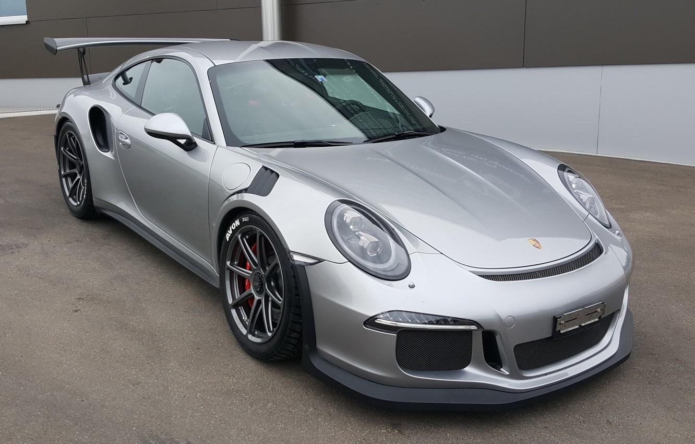 Photo wallpaper Porsche, One, GT3, Forged, Wheels, 991, Forgeline, Monoblock, RS, on, PIece, GE1R