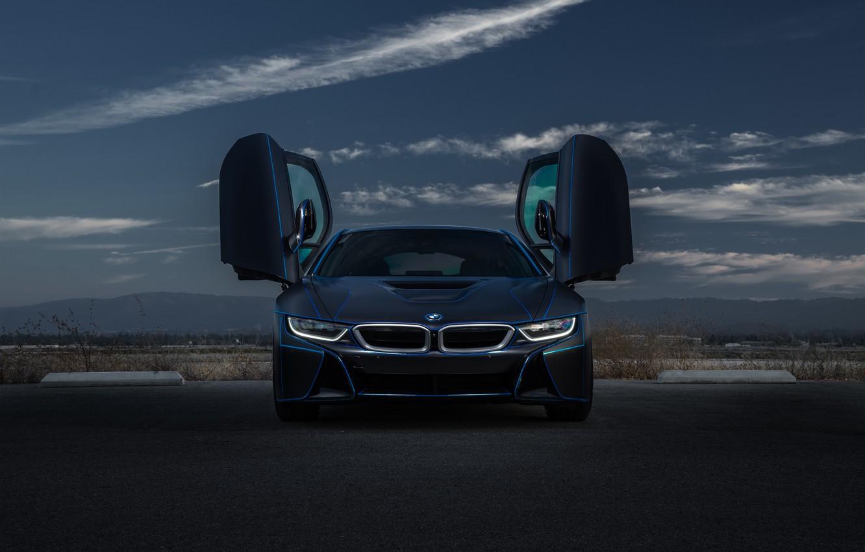 Photo wallpaper BMW, Car, Sky, Front, Collection, Aristo, Doors, Customs