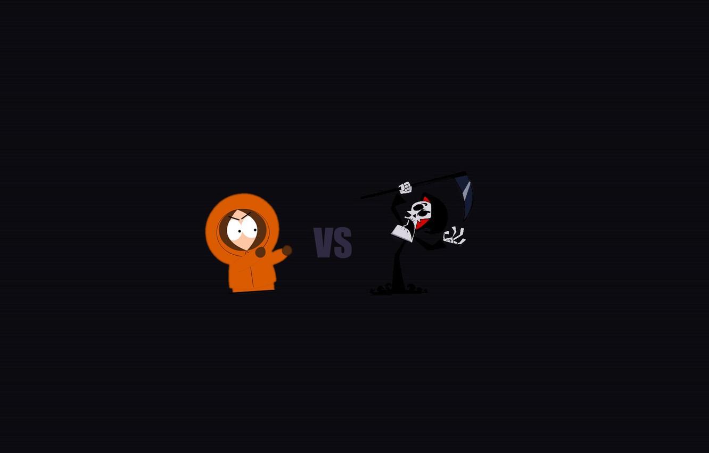Wallpaper Death Minimalism Kenny Minimal South Park