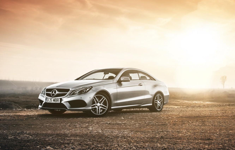 Photo wallpaper coupe, mercedes-benz, Mercedes, coupe, rechange, e class