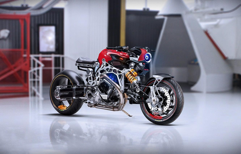 Photo wallpaper Concept, Future, Bikes, Motocycle, by Khyzyl Saleem