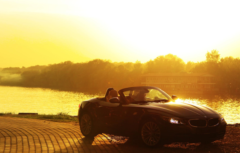 Photo wallpaper summer, the sun, bmw cabriolet