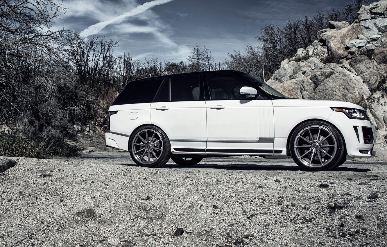 Photo wallpaper Land Rover, Range Rover, land Rover, range Rover, Vogue, 2015