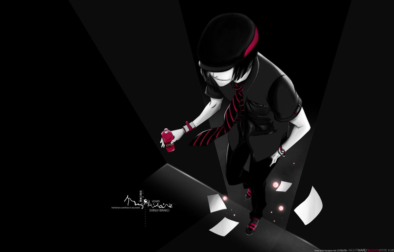 Photo wallpaper red, sneakers, guy, Bleach, Shinji Hirako