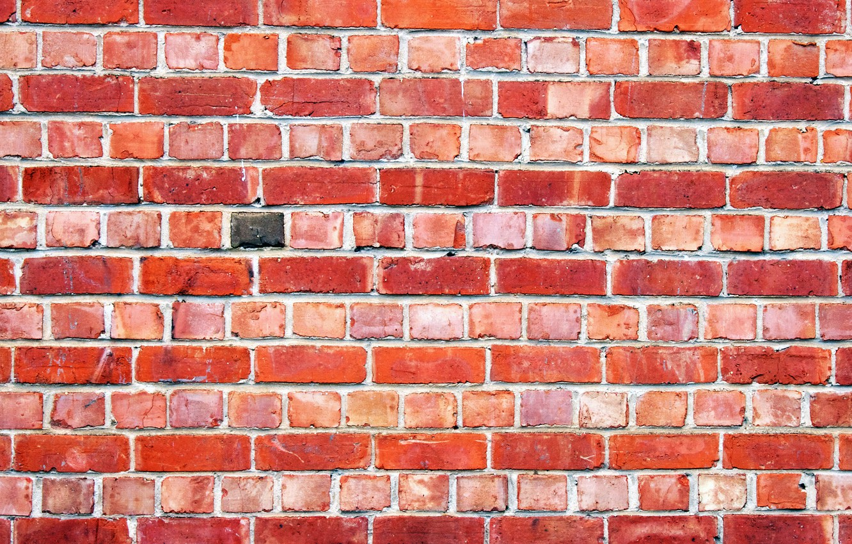 Photo wallpaper wall, brick, texture, masonry