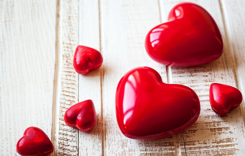 Photo wallpaper heart, hearts, love, heart, romantic