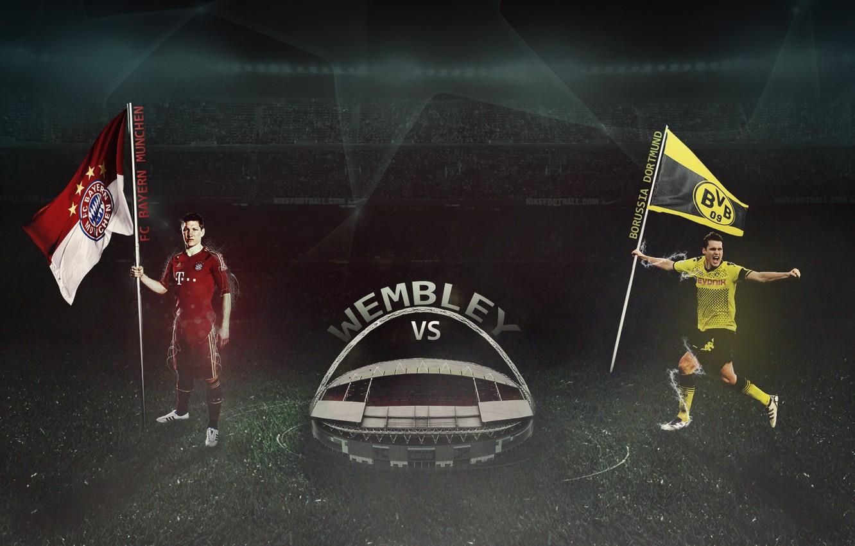 Wallpaper Uefa Wembley Borussia Dortmund Fc Bayern Schweinsteiger Final 2013 Champions League Kehl Images For Desktop Section Sport Download
