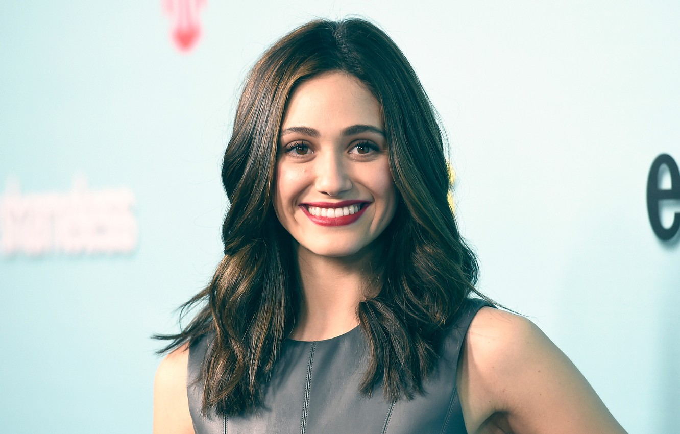 Wallpaper Emmy Rossum, Emmy Rossum