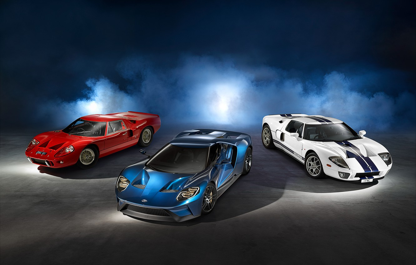 Photo wallpaper Ford, supercar, Ford, 2015