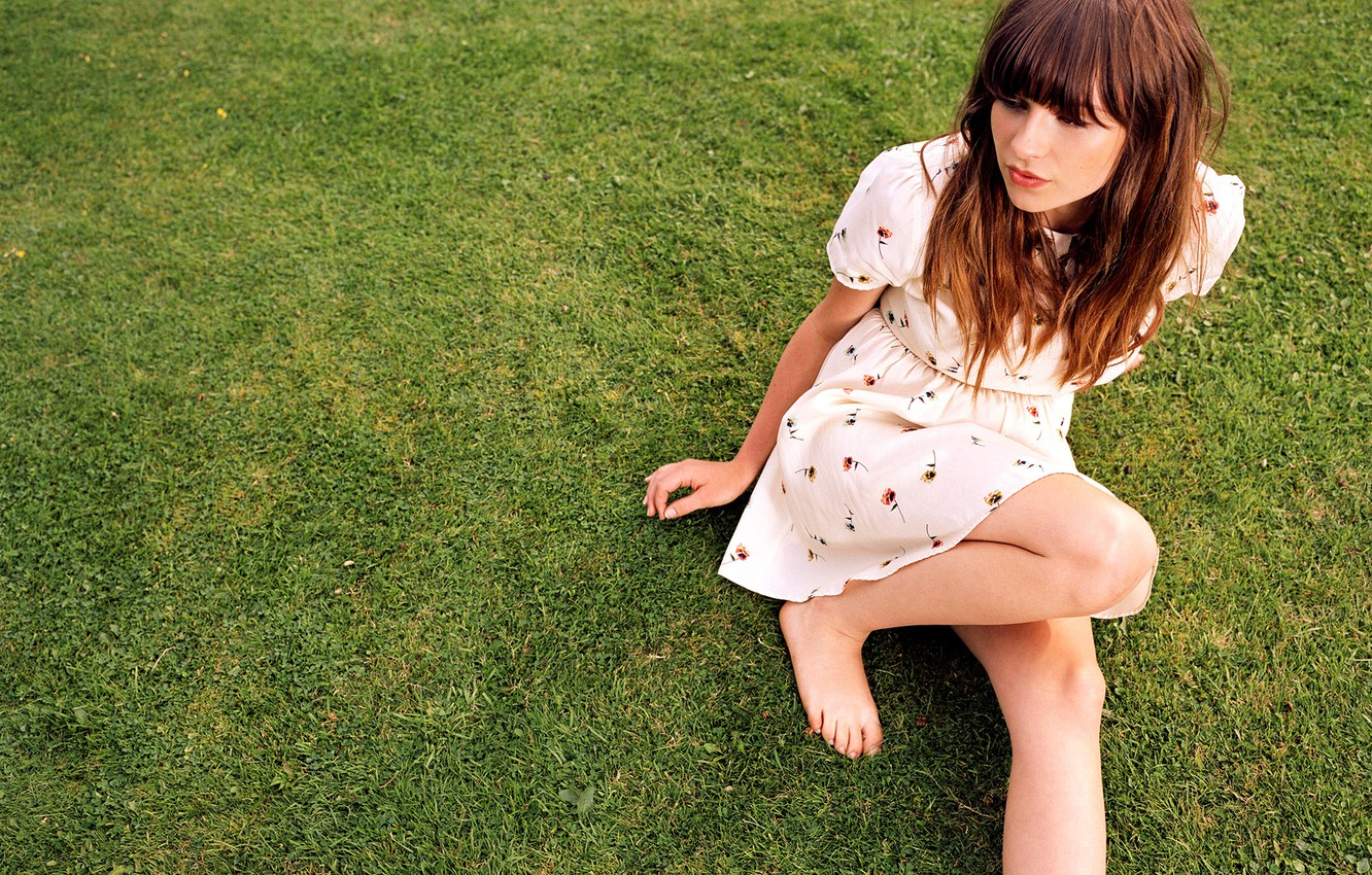 Photo wallpaper singer, Gabrielle Aplin, songwriter, English Rain