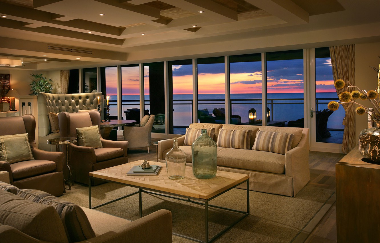 Photo wallpaper design, house, style, Villa, interior, balcony, terrace, living space